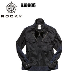 メンズ 作業服 ジャケット ROCKY フライトジャケット RJ0906 レディース オールシーズン 作業着 単品(上下セットUP対応) SS〜5L