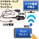 スマホミラーリングワイヤレスでディスプレイHDMIへ DLNA Airplay Miracast対応 ANYCAST