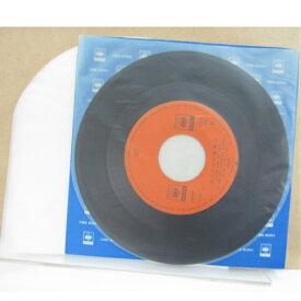 EP丸形レコード袋 100枚 (静電防止剤添付 HD 丸底シール 国内製造) レコード袋