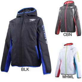 【アンブロ】UMBRO レディース フード付きインシュレーション中綿入りジャケット UCA4656W ウインドブレーカー セール