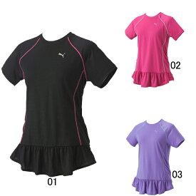 最終処分価格!【プーマ】PUMA レディース WOW COOL ロング丈 半袖Tシャツ 903360 セール