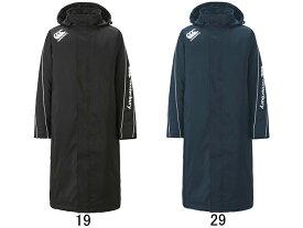 【カンタベリー】CANTERBURY インサレーション 中綿入りフード付きロングコート RG78515 ベンチコート ラグビー メンズ セール