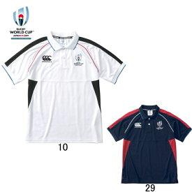 「ラグビーワールドカップ2019(TM)日本大会」カンタベリー公式ライセンス商品【カンタベリー】CANTERBURY 半袖ポロシャツ VWD39112 ウインガーポロ メンズ