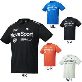 2019年春夏モデル【デサント】Move Sport BRZ+ 半袖Tシャツ DMMNJA61 プラクティスシャツ メンズ