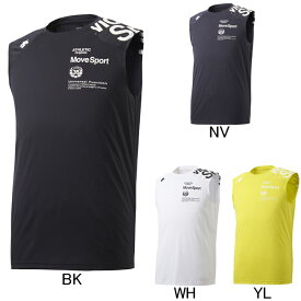 927f0e0efbf7a 2019年春夏モデル【デサント】Move Sport WATER BLOCK ノースリーブシャツ DMMNJA50N タンク