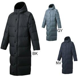 2019年秋冬モデル【デサント】フード付 スーパーロングダウンコート DMMOJC43 ベンチコート メンズ セール