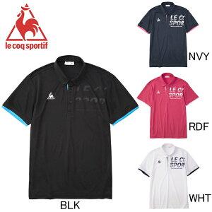 2020年春夏モデル【ルコック】le coq sportif ボタンダウン 半袖ポロシャツ QMMPJA42 ゴルフ・ランニング・フィットネス メンズ