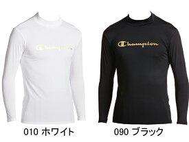【チャンピオン】ChampionロゴPT モックネック長袖コンプレッションシャツ C24H701 メンズ セール