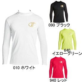 【チャンピオン】Champion CロゴPT モックネック長袖コンプレッションシャツ C24H702 メンズ セール