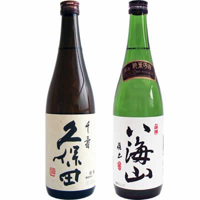 久保田 千寿 720ml 八海山 純米吟醸 720ml 2本 日本酒飲み比べセット