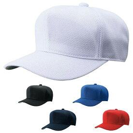 【ZETT】ゼット ウェア 野球 帽子 六方角型 ダブルメッシュ bh132