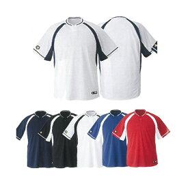 【DESCENTE】デサント 2ボタンベースボールシャツ レギュラーシルエット db-103b 【メール便対応商品】