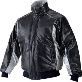 ★ 【asics】アシックス グランドコート 中綿入り ニューレイドレザー素材 ブラック×Sグレー bag001-9010
