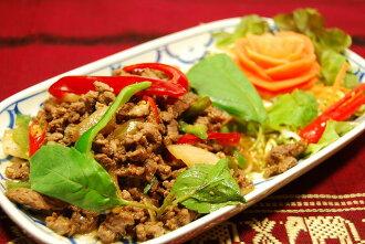 ☆ ガッパオ/ヌア ☆ (쇠고기와 태국 나물 볶음) 인기 태국 요리!