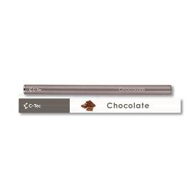 シーテック スティック チョコレート 使い捨てタイプ 携帯ケース付き 電子タバコ 送料無料 c-tec stick ニコチン0 タール0 副流煙0 ビタミン 成分配合