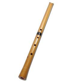尺八 合竹 直管 節無し 1尺3寸 1尺4寸 (2103)