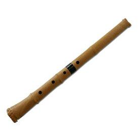 プラスチック尺八 しゃくはち 悠 曲管 節あり 継ぎ手あり 1尺8寸管 基準音:D
