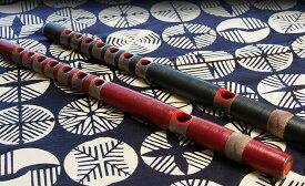 龍笛 樹脂製 色・指穴・ピッチ選択可能 選べる笛袋付