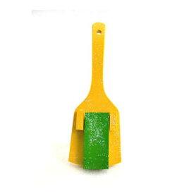 スペシャル鳴子 一枚バチ 黄色 (黄緑) 5組セット