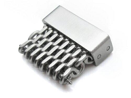 20mm シャークメッシュバンド用エクステンションピース ブラッシュド