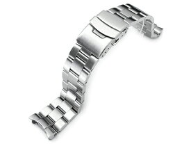 22mm メタル時計バンド ステンレススチール オイスター ブレスレット for セイコー ダイバー SKX007, SKX009, SKX011他