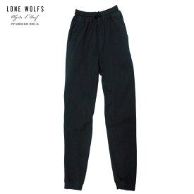 【セール 50%OFF】LONE WOLFS ローンウルフズ スエットパンツ メンズ ブラック S-L[スウェットパンツ パンツ 無地 シンプル ルームウェア おしゃれ アメリカ USA ブランド サーフ アメカジ サーフファッション サーフブランド 黒]