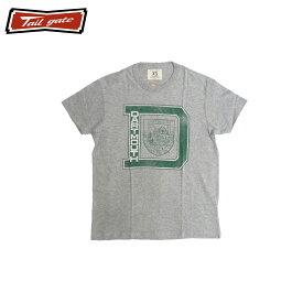 TAILGATE テイルゲート DART MOUTH メンズ/レディース ヘザーグレー XS-M[Tシャツ 半袖 半袖Tシャツ カットソー ロゴ カナダ カナダ製 アメカジ アメカジブランド アメカジファッション ブランド]