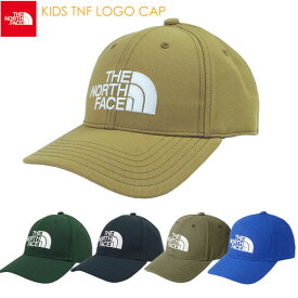 (一部7/23日頃入荷)ノースフェイス THE NORTH FACE キッズ TNFロゴキャップ NNJ41850 キッズ用 帽子 男の子 女の子