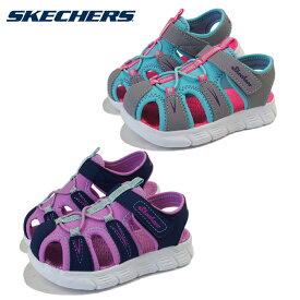 スケッチャーズ (SKECHERS) 子供靴 サンダル C-FLEX SANDAL-AQUA STEPS 86939N キッズ用 シューズ 女の子 幼稚園 保育園 夏祭り 夏休み