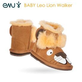 【送料無料】エミューオーストラリア(EMU Australia)防寒 キッズ ムートンブーツ  Leo Lion Walker ブーティ B11433 キッズ用 男の子 女の子用 子供靴 ふわふわ あったか おしゃれ