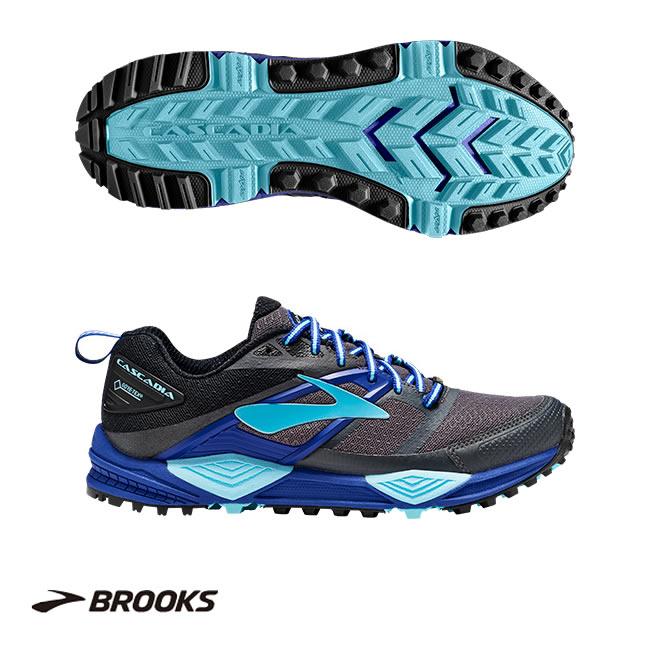 ブルックス Brooks トレイルランニング シューズ CASCADIA 12GTX(カスケディア 12 GTX)1202521B レディース(女性用)