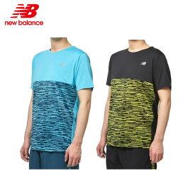 ニューバランス newbalance ランニングウェア NB Hanzo ショートスリーブグラフィックTシャツ AMT93192 メンズ(男性用) 19FW (1枚までメール便OK)