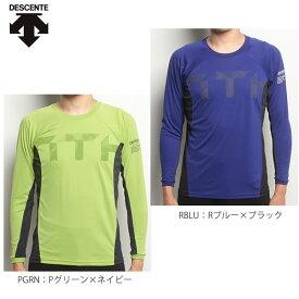 デサント DESCENTE ランニングウェア MOTION FREE ロングスリーブシャツ DAT5759 メンズ(男性用) [メール便1枚までOK]
