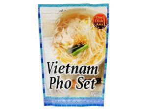ONE DISH ASIA ベトナムフォーセット 170g 2人前 ベトナム料理 米粉麺 ライスヌードル フォー ミールキット 時短