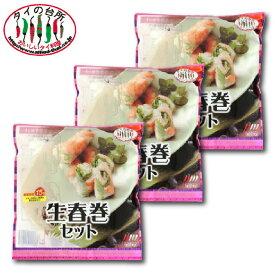 タイの台所 生春巻セット 3個セット