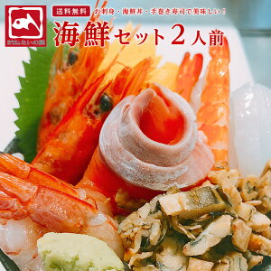 たいの鯛 海鮮グルメセット 2人前 たいの鯛 (ギフト プレゼント 誕生日 刺身 海鮮丼 手巻き寿司 おつまみ 敬老の日 御祝 内祝 海鮮セット ) サーモン イカ 海老 エビ 赤海老 たまご 刻みア