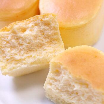 スフレチーズケーキ『スフレチーズケーキ』10個入り半解凍で食べると、ひんやりとしっとりが絶妙においしい♪【大陸/caketairikuお取り寄せ通販】