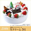 【特製 クリスマスケーキ】生クリーム 5号 直径15cmご予約受付中!クリスマス向け特製ケーキ★家族で、友達と、皆で♪
