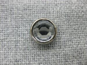 -ガラスボタンのような輝き- 【B】アクリル クリスタル ボタンマーブル足 裏足 タイプ 10mm×8個セット