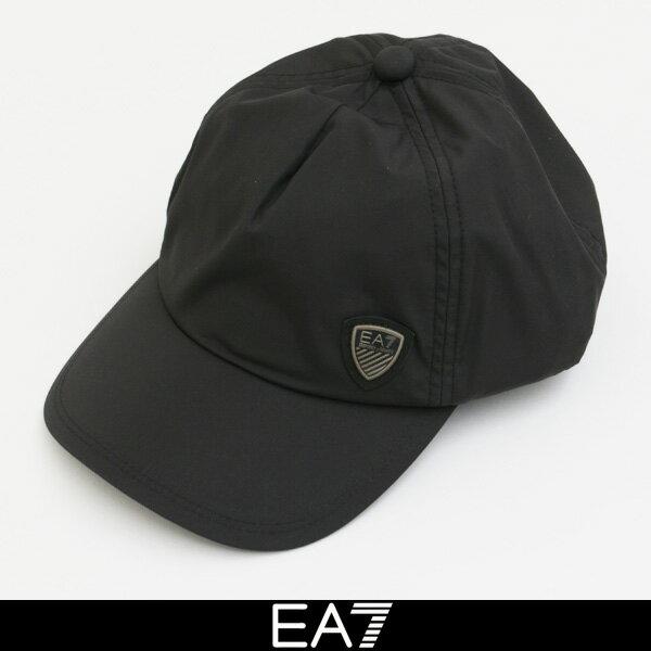 EMPORIO ARMANI(エンポリオアルマーニ) EA7キャップブラック275628 7A897