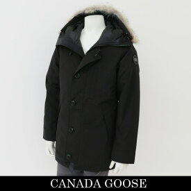 CANADA GOOSE(カナダグース)コヨーテファーフード付ダウンコートブラック(Black-Noir)3426MBCHATEAU PARKA BLACK LABEL