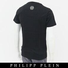 PHILIPPPLEIN(フィリッププレイン)スワロフスキー使用半袖Tシャツ