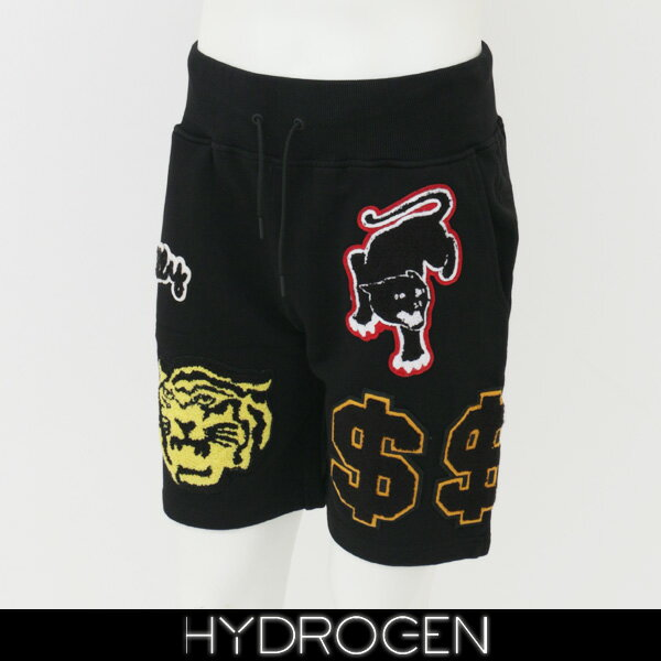 HYDROGEN(ハイドロゲン)スウェットショートパンツブラック220652
