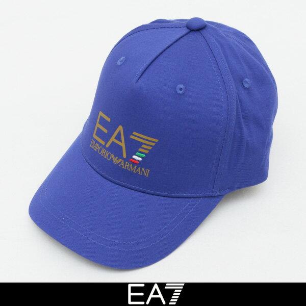 EMPORIO ARMANI(エンポリオアルマーニ) EA7キャップブルー275780 8P511