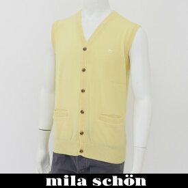mila schon(ミラ・ショーン)ニットベストイエロー31783 126 30