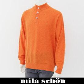 mila schon(ミラ・ショーン)ハイネックセーターオレンジ31180 113 20