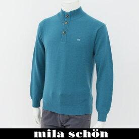 mila schon(ミラ・ショーン)ハイネックセーターブルー系31780 124 41