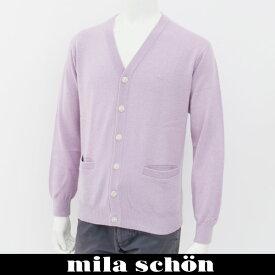 mila schon(ミラ・ショーン)カーディガンパープル31381 306 75