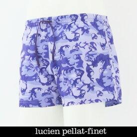 LUCIEN PELLAT-FINET(ルシアンペラフィネ)MENS 水着(スイムウェア)パープルカモフラEVH1650