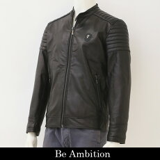 BeAmbition(ビーアンビション)レザージャンバー